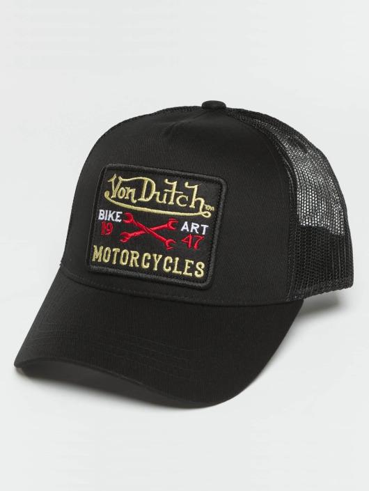 Von Dutch Trucker Cap Bike Art schwarz