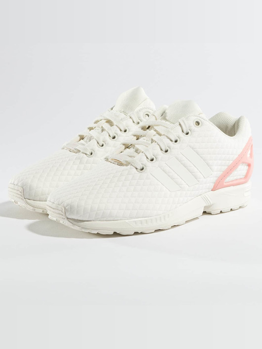 ... adidas originals Baskets ZX Flux blanc ...