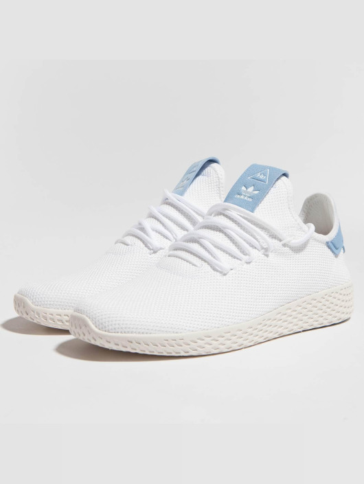 Hu Femme 437434 Tennis Pw Blanc Originals Adidas Baskets tqpSgwXP
