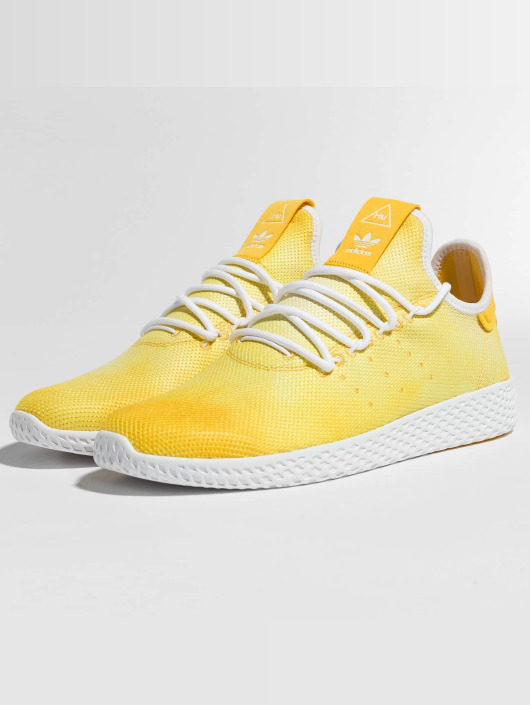 ... adidas originals Baskets pW HU Holi Tennis H jaune ...