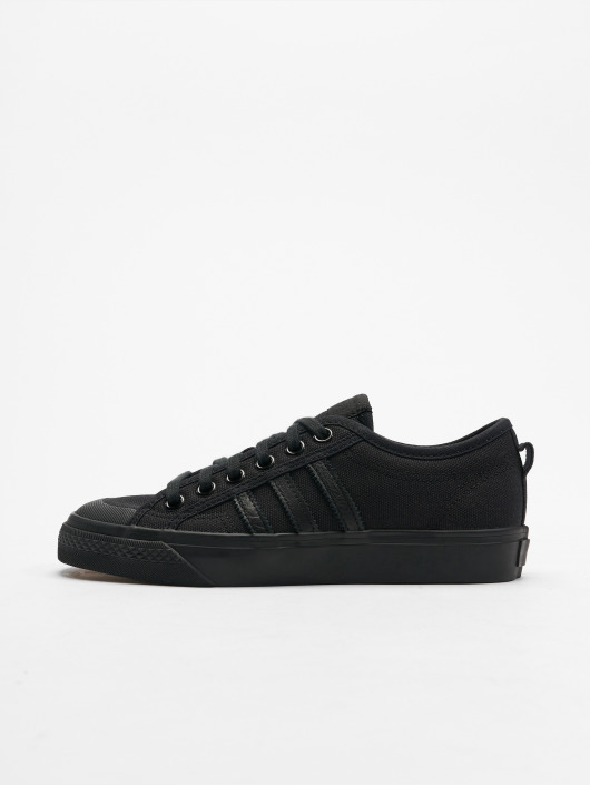 adidas originals Baskets Nizza noir; adidas originals Baskets Nizza noir ...