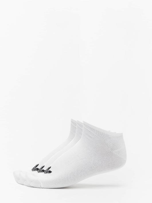 adidas Originals Skarpetki Trefoil Liner bialy