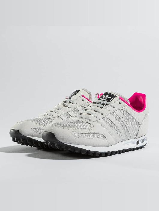 040811ccf7fc11 adidas originals Kinder Sneaker LA Trainer J in grau 369782