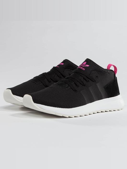 adidas Originals FLB Mid Sneaker Damen Weiss