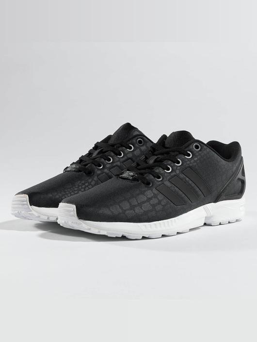 adidas damen sneakers zx flux schwarz