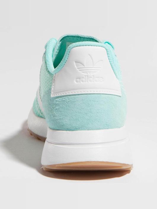 adidas originals Sneakers Flashback Runner turkusowy
