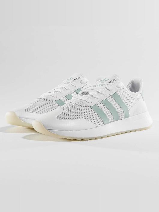 watch e445a 56985 ... adidas originals Sneakers FLB W vit ...