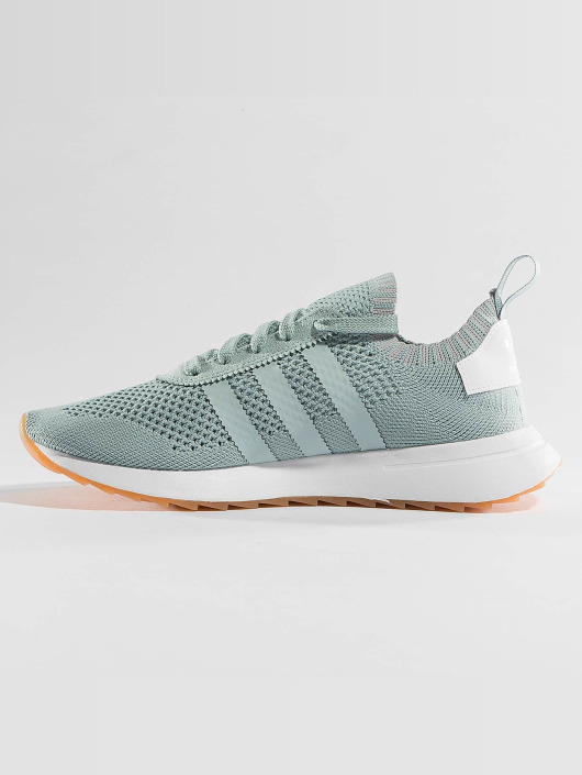 adidas originals Sneakers FLB W PK zielony