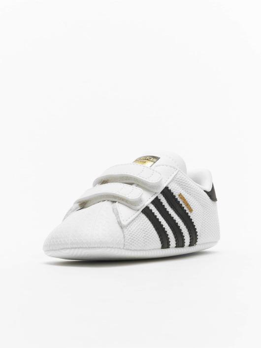 adidas originals Tøysko Superstar Crib hvit