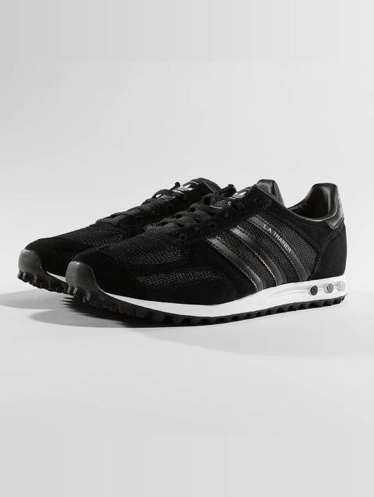 adidas originals Tøysko LA Trainer J svart