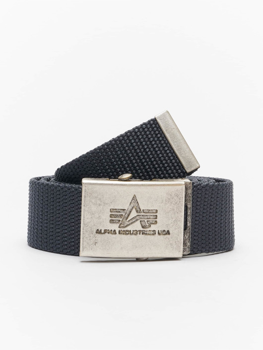 Alpha Industries Belt Heavy Duty gray
