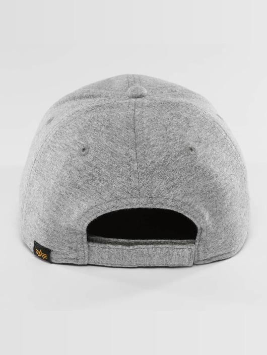 Alpha Industries Snapback Cap X-Fit II gray