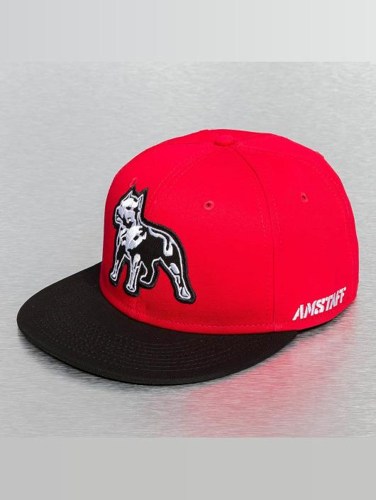 Amstaff snapback cap Timus rood