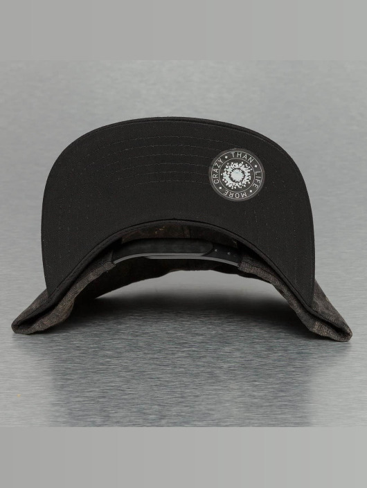 Bangastic Snapback Cap Acid Wash schwarz