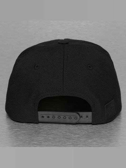 Bangastic Snapback Caps Square čern