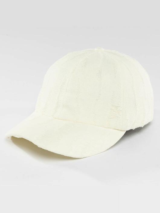 Bangastic Snapback Caps destroyed hvit