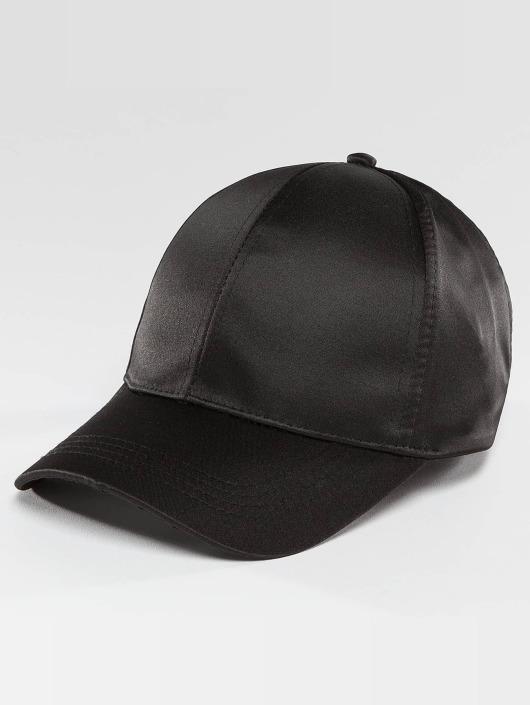 Bangastic Snapback Caps Satin svart