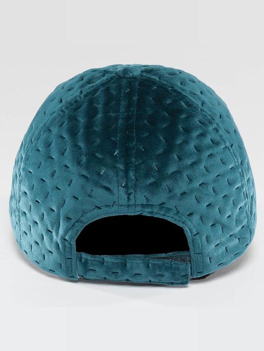 Bangastic Snapback Caps Velvet turkis