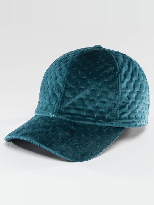 Bangastic Snapback Caps Velvet turkusowy