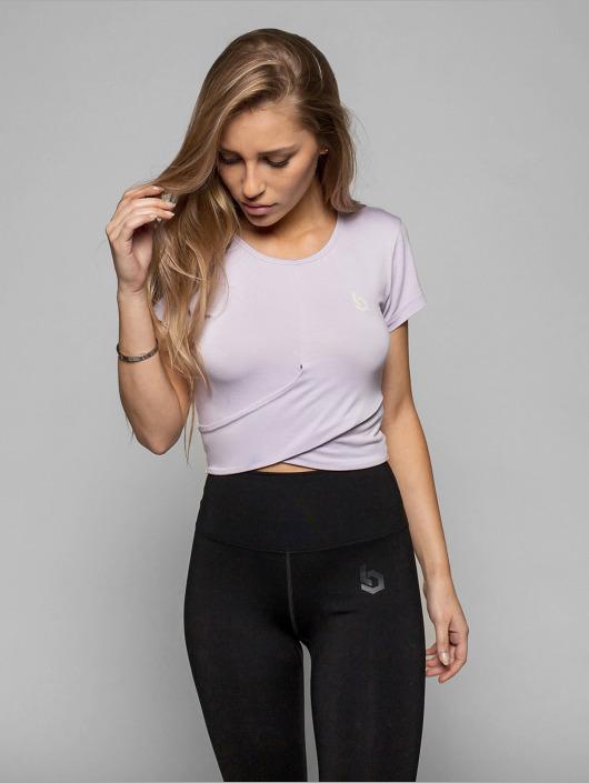 Beyond Limits Camiseta Bonded púrpura