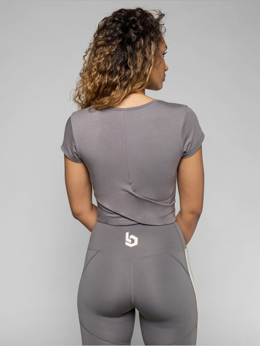 Beyond Limits Shirts desportes Bonded gris