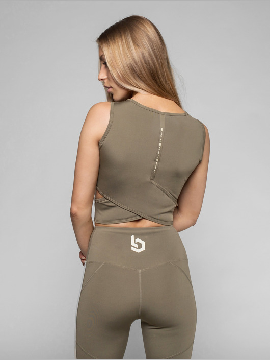 Beyond Limits Tops Bonded khaki