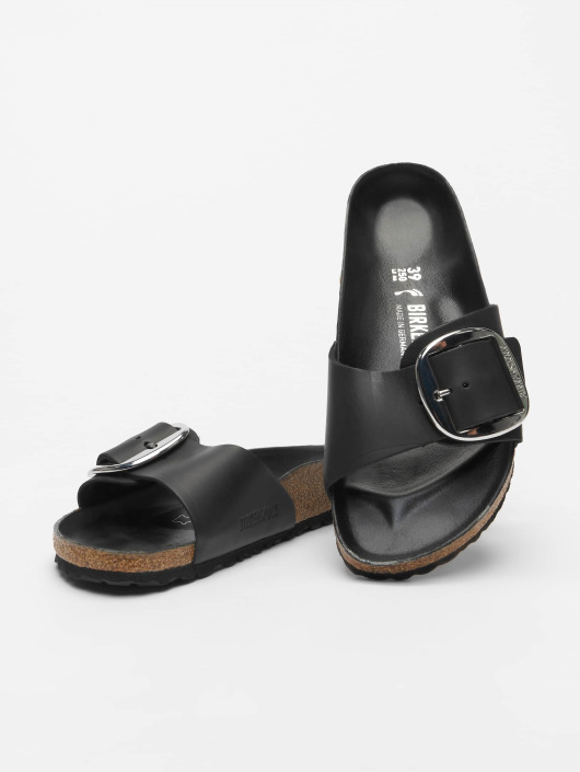 Birkenstock Japonki Madrid Big Buckle czarny