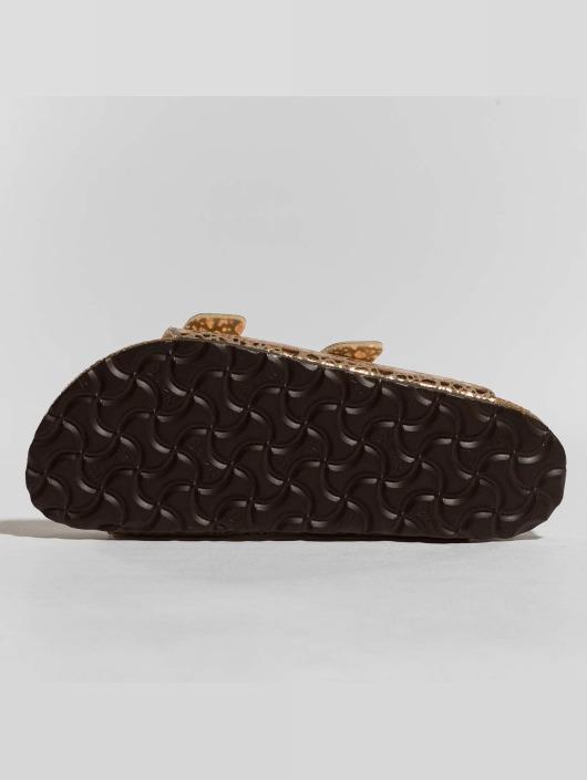 Birkenstock Sandaalit Arizona BF Metallic Stones ruskea