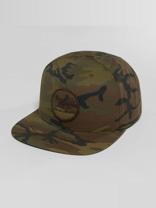 Brixton Casquette Snapback & Strapback Wheeler camouflage