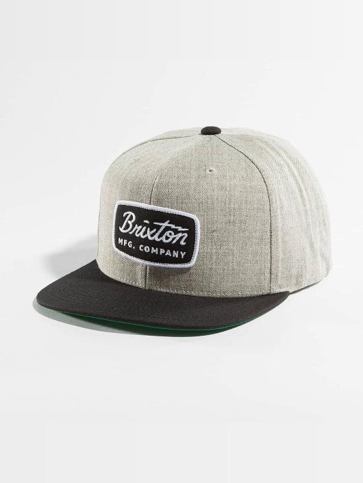 Brixton Casquette Snapback & Strapback Jolt gris