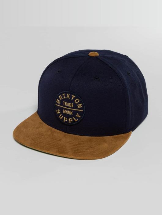 Brixton Snapback Caps Oath III blå