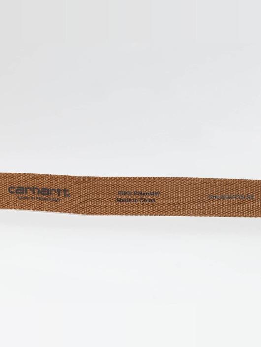 Carhartt WIP Gürtel Clip braun