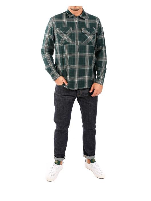 Carhartt WIP Koszule LS Portland zielony
