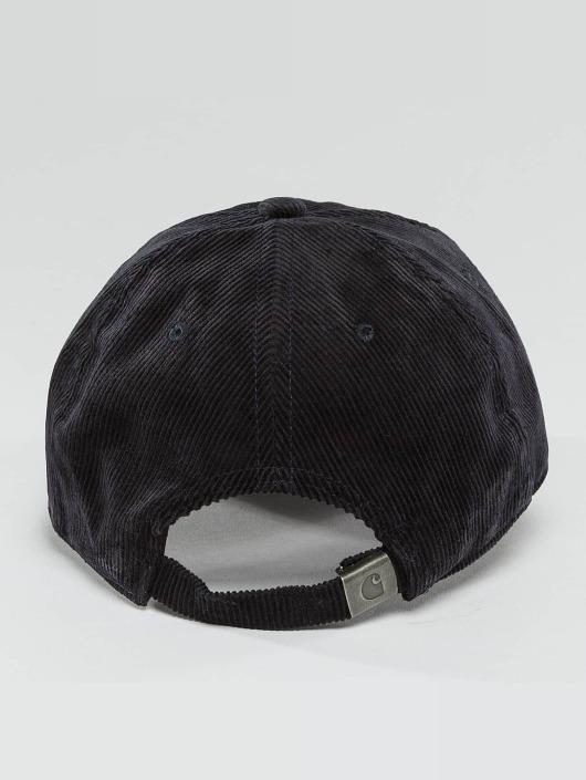 Carhartt WIP Snapback Cap Madison Logo Cord blue