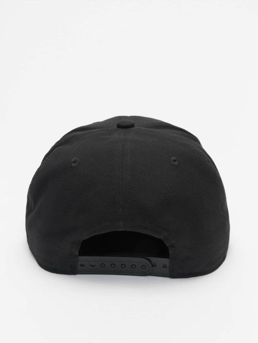 Carhartt WIP Snapback Caps Logo Canvas svart