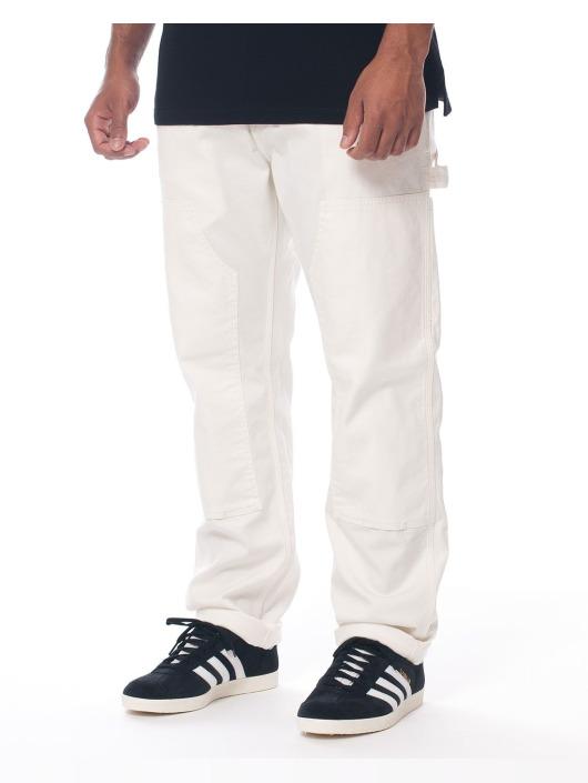 Carhartt WIP Spodnie wizytowe Ruck Double bialy