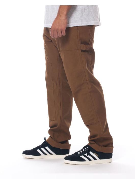 Carhartt WIP Spodnie wizytowe Ruck brazowy