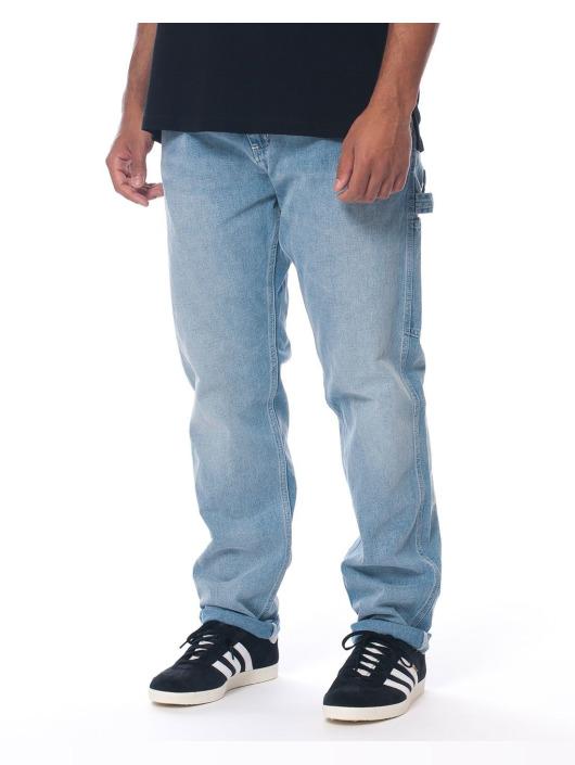 Carhartt WIP Straight Fit Jeans Ruck Single blå
