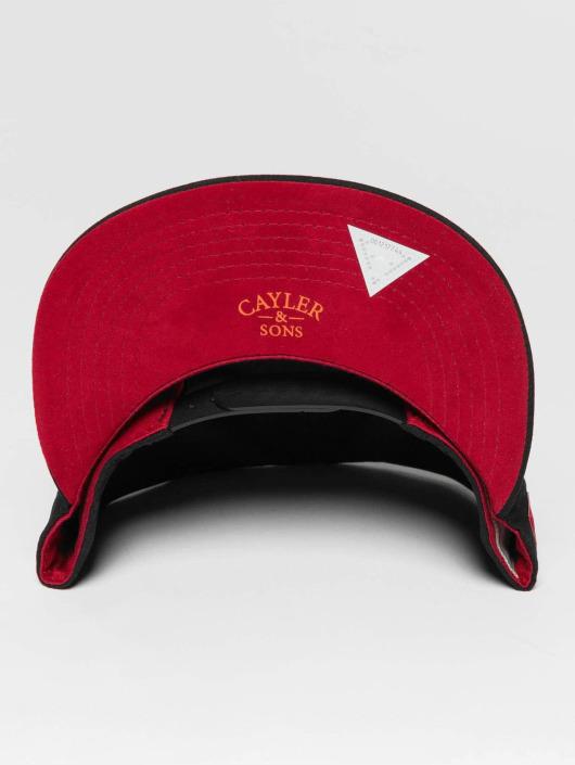 Cayler & Sons Snapback Cap WL Drop Out black