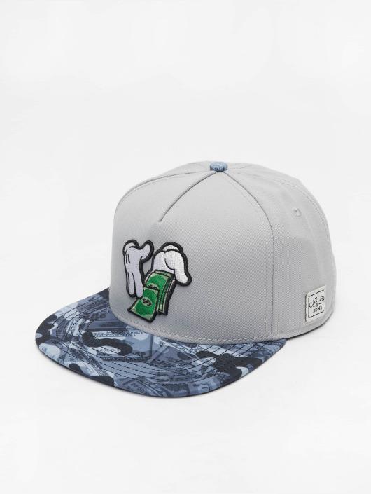 Cayler & Sons Snapback Cap Make It Rain gray