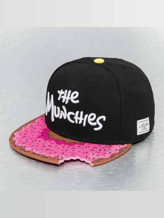Cayler   Sons Cap   snapback cap Munchies in zwart 167893 4e5214416fe