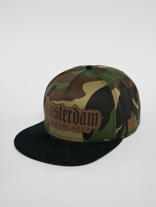 Cayler & Sons Snapback Caps Amsterdam Lux camouflage