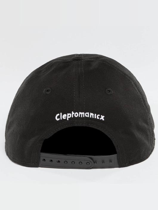 Cleptomanicx Snapback Cap Mini Möwe schwarz