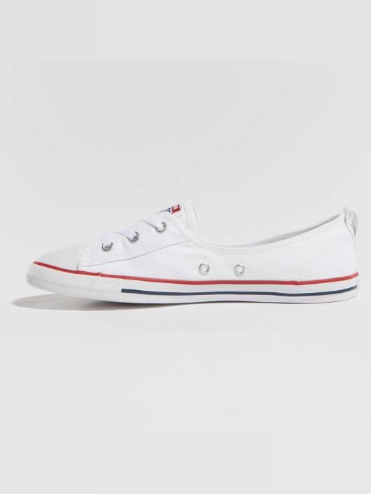 Lace Slip Sneakers White Converse Ballet Ctas xrdoWCBe