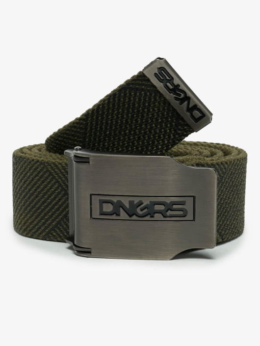 Dangerous DNGRS Belt Ribbon olive