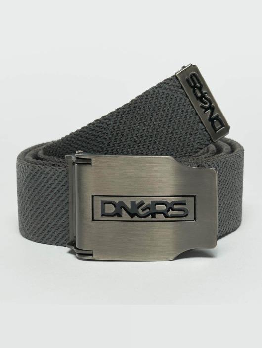 Dangerous DNGRS Belts Ribbon grå