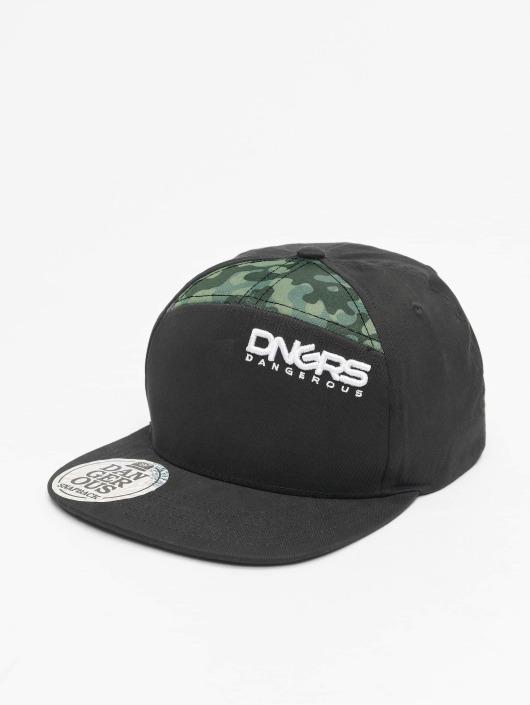 Dangerous DNGRS Snapback Cap Gang camouflage