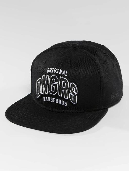 Dangerous DNGRS Snapback Cap Original ID schwarz