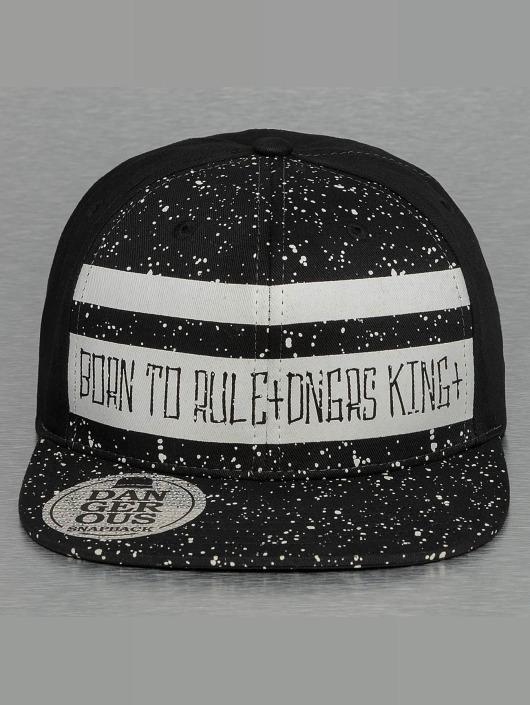 Dangerous DNGRS Snapback Caps Born To Rule čern