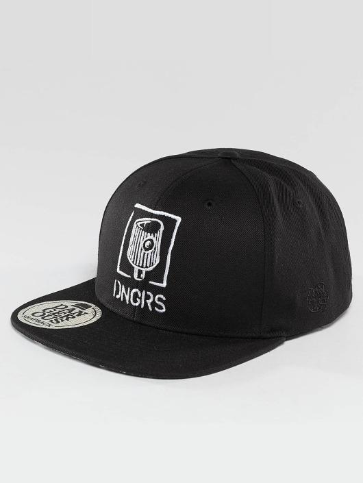 Dangerous DNGRS Snapback Caps Bomb Squad czarny
